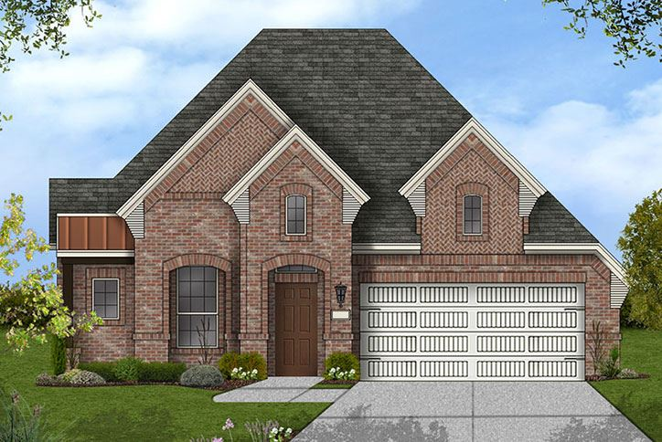 Canyon Falls Coventry Homes Plan 1901 Elevation D