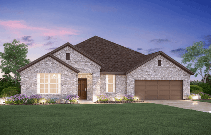 MI Homes Plan Nolan Elevation B in Canyon Falls