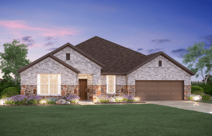 MI Homes Plan Nolan Elevation B2 in Canyon Falls