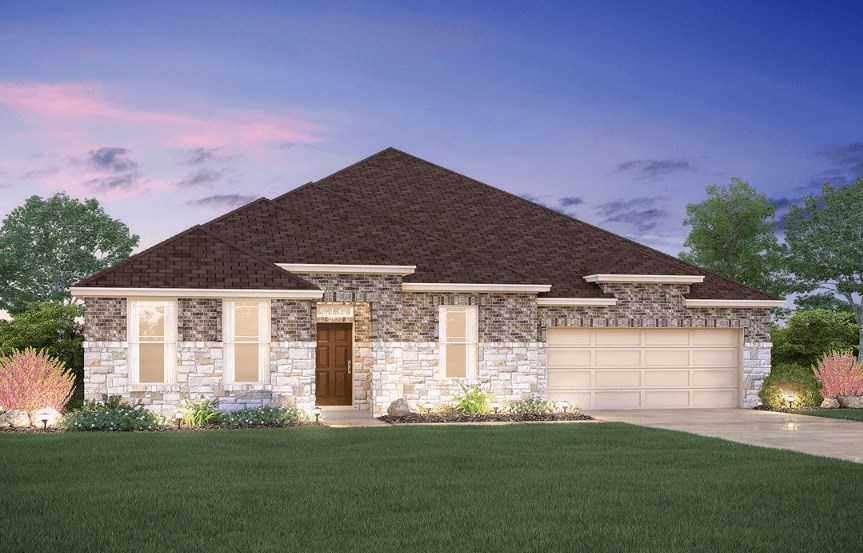 MI Homes Plan Nolan Elevation C2 in Canyon Falls