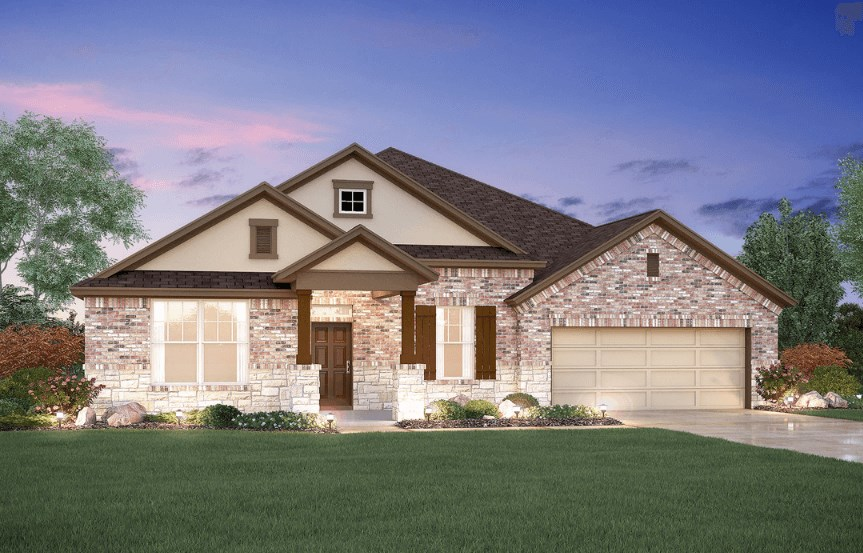 MI Homes Plan Nolan Elevation D2 in Canyon Falls
