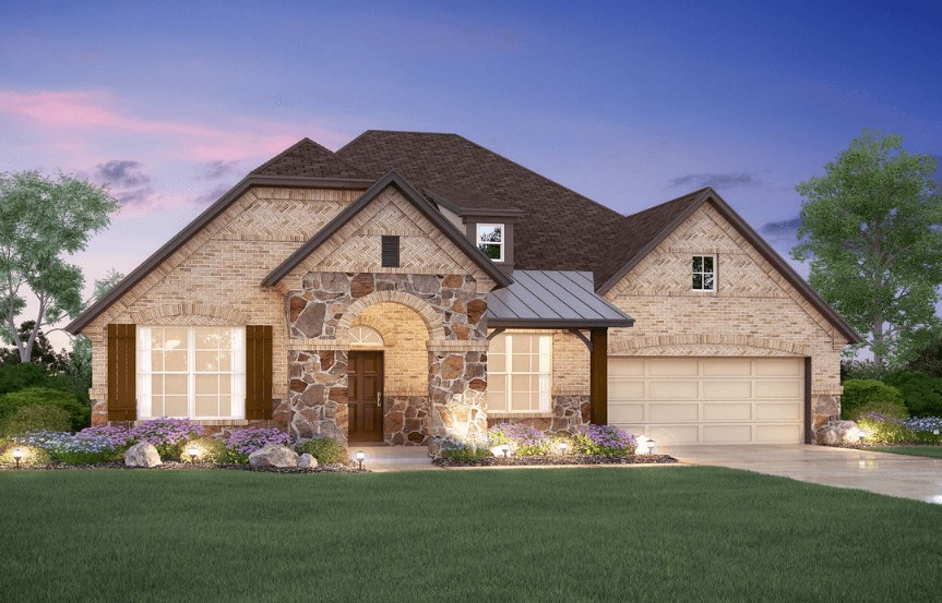 MI Homes Plan Nolan Elevation E2 in Canyon Falls