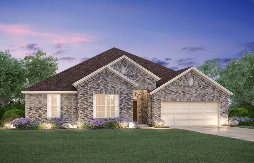 MI Homes Plan Sabine Elevation B in Canyon Falls
