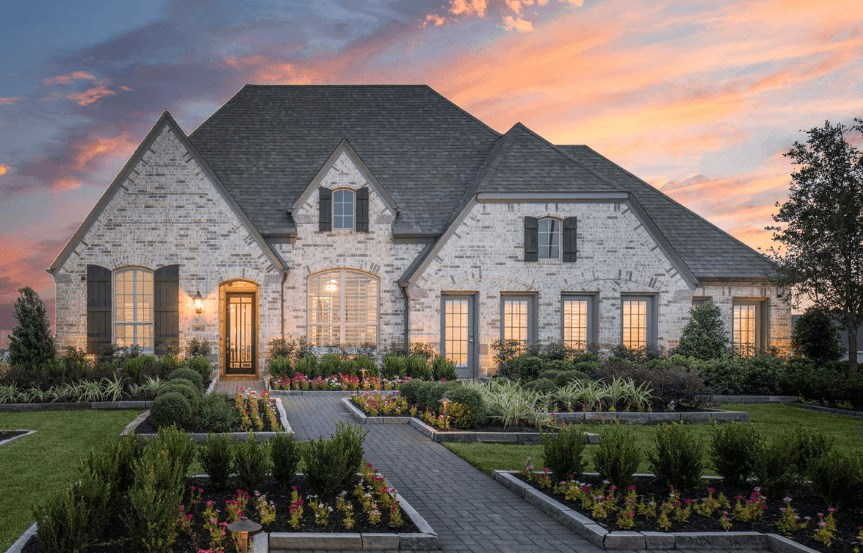 Highland Homes Plan 200 Exterior in Canyon Falls