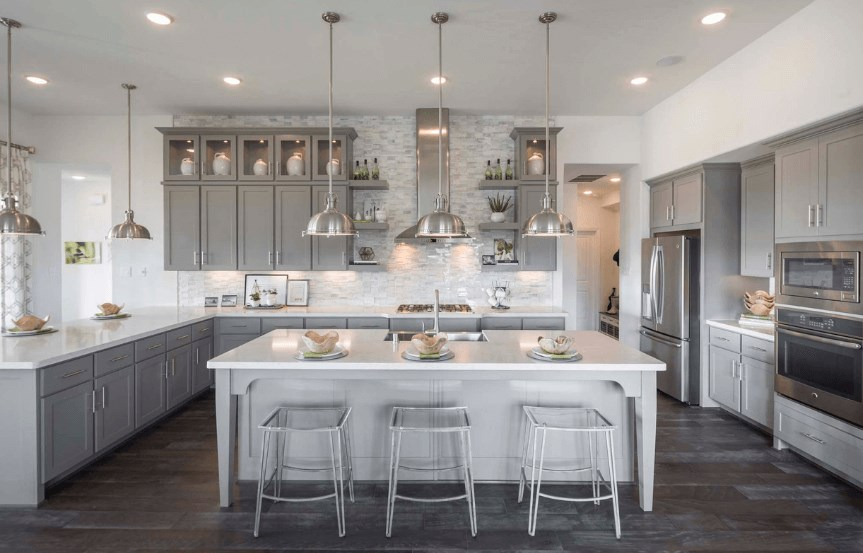 Highland Homes Plan 200 Kitchen in Canyon Falls
