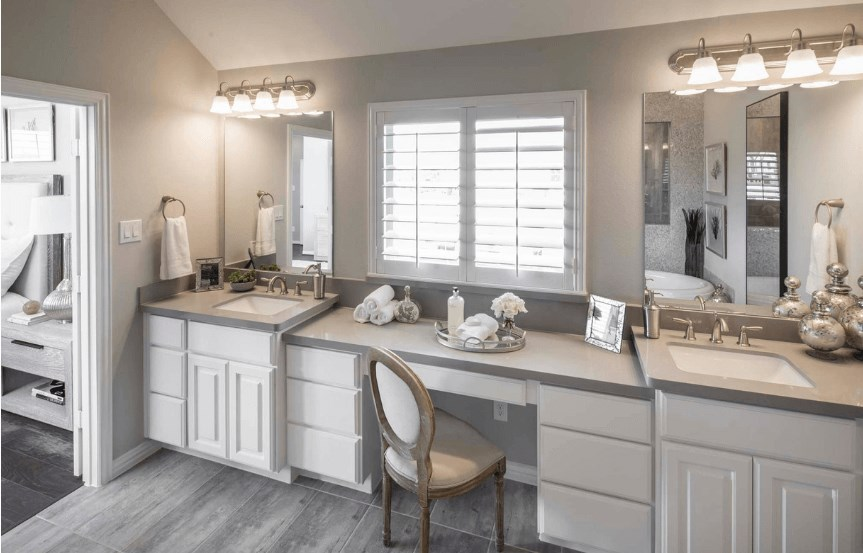 Highland Homes Plan 200 Vanity in Canyon Falls