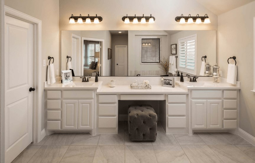 Highland Homes Plan 204 Double Sink in Canyon Falls