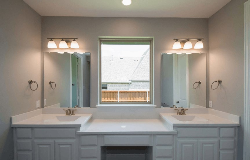 Highland Homes Plan 206 Double Sink in Canyon Falls