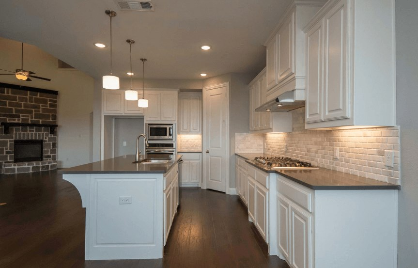 Highland Homes Plan 206 Kitchen in Canyon Falls