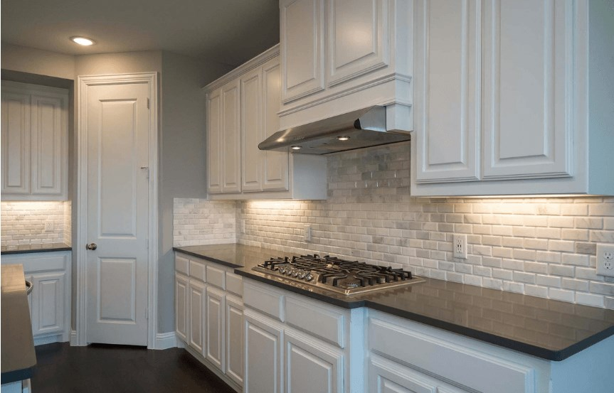 Highland Homes Plan 206 Stove in Canyon Falls