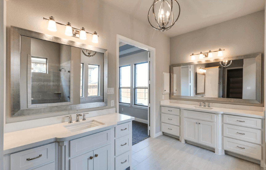 Drees Homes Plan Tanner Double Sink in Canyon Falls
