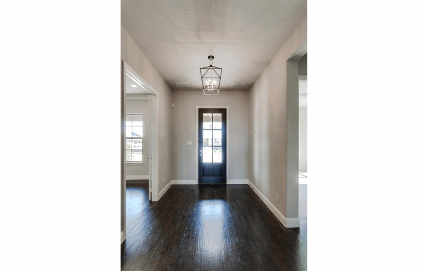 Drees Homes Plan Tanner Entry Way in Canyon Falls