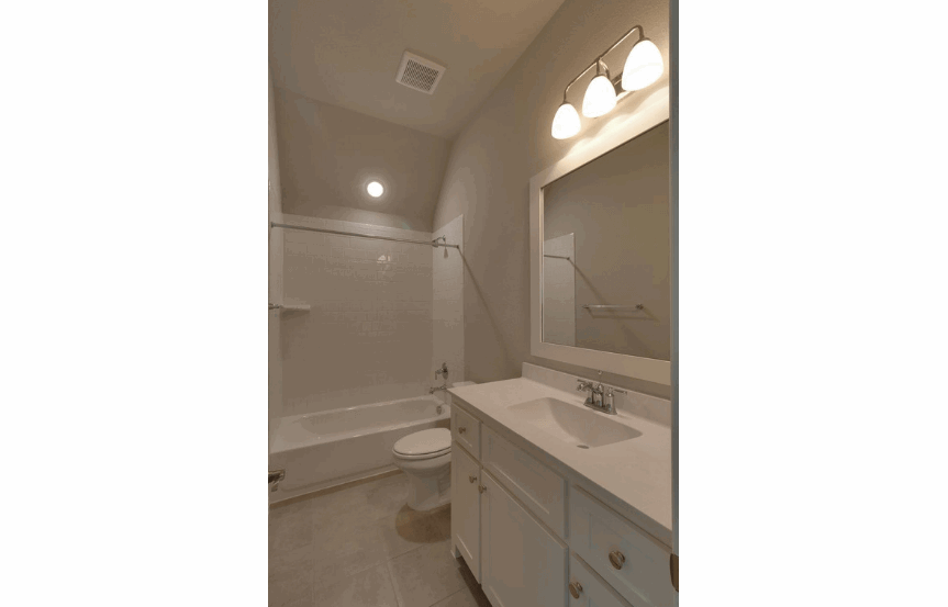 Drees Homes Plan Tanner Full Bath in Canyon Falls