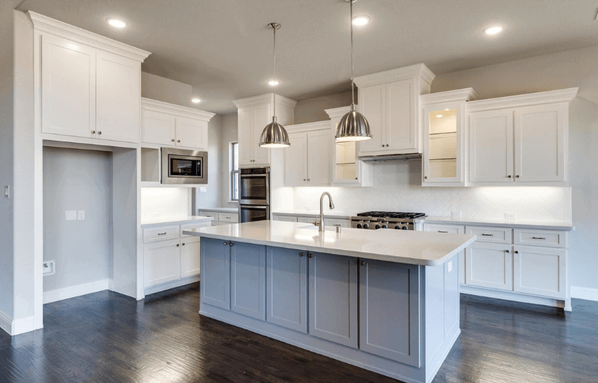 Drees Homes Plan Tanner Kitchen in Canyon Falls