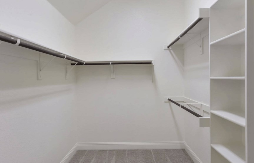 Coventry Homes Plan 2153 C Master Closet in Canyon Falls