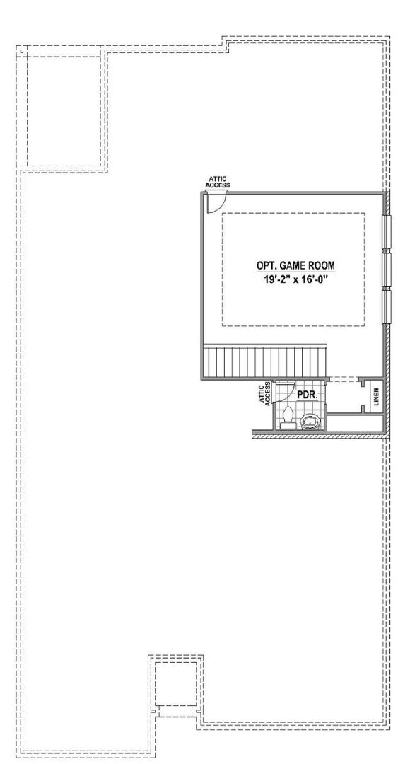 American Legend Plan 1523 Floorplan Options 2 in Canyon Falls