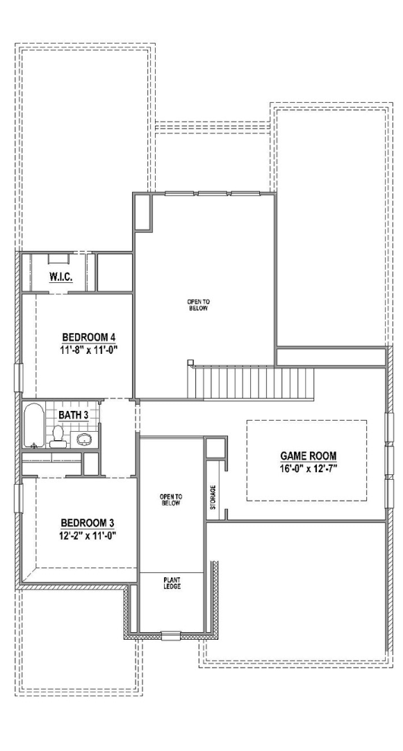 American Legend Plan 1525 Floorplan 2 in Canyon Falls