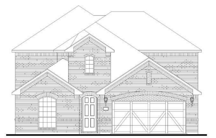 American Legend Plan 1527 Elevation A in Canyon Falls