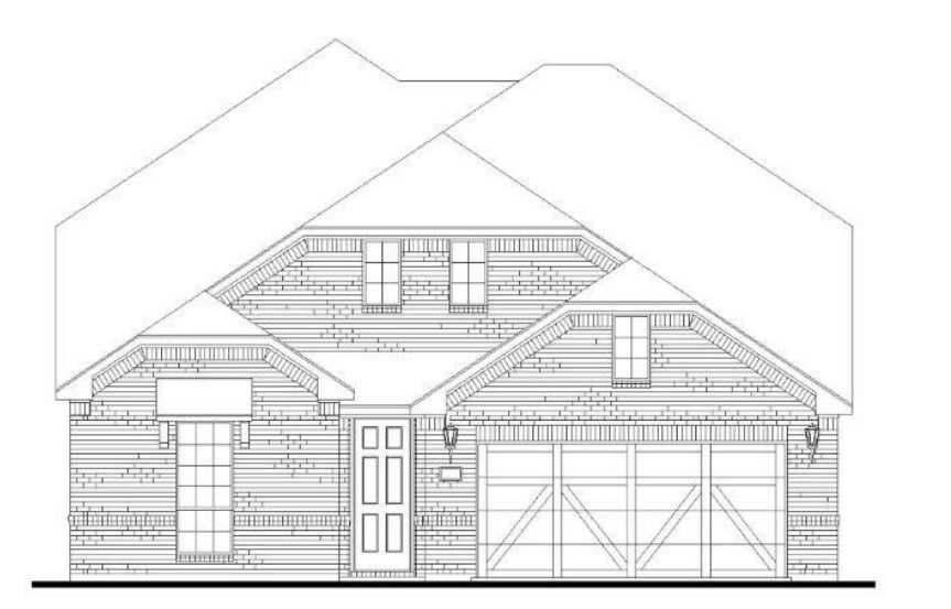 American Legend Plan 1527 Elevation B in Canyon Falls
