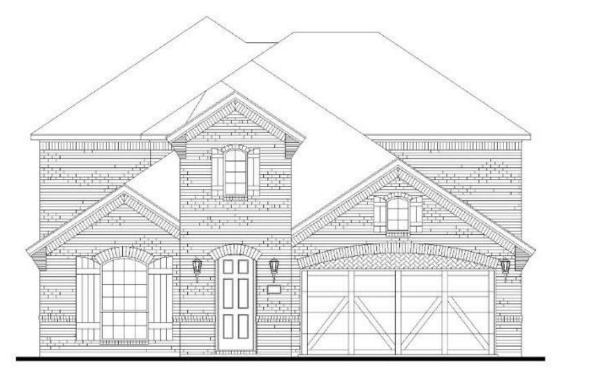 American Legend Plan 1527 Elevation C in Canyon Falls