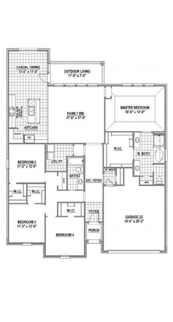 American Legend Homes Plan 1681 Floorplan in Canyon Falls