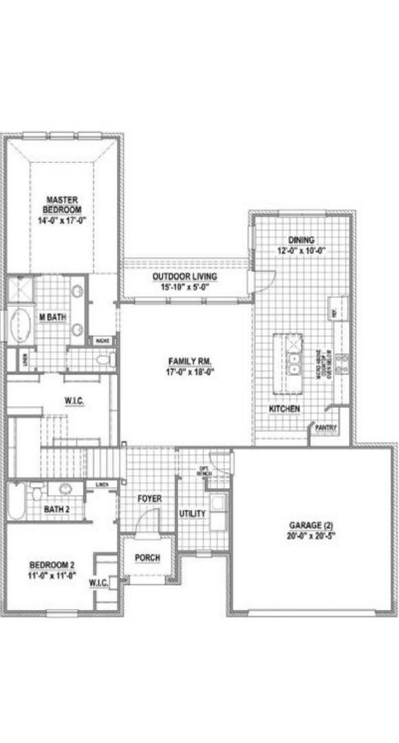 American Legend Homes Plan 1684 Floorplan in Canyon Falls