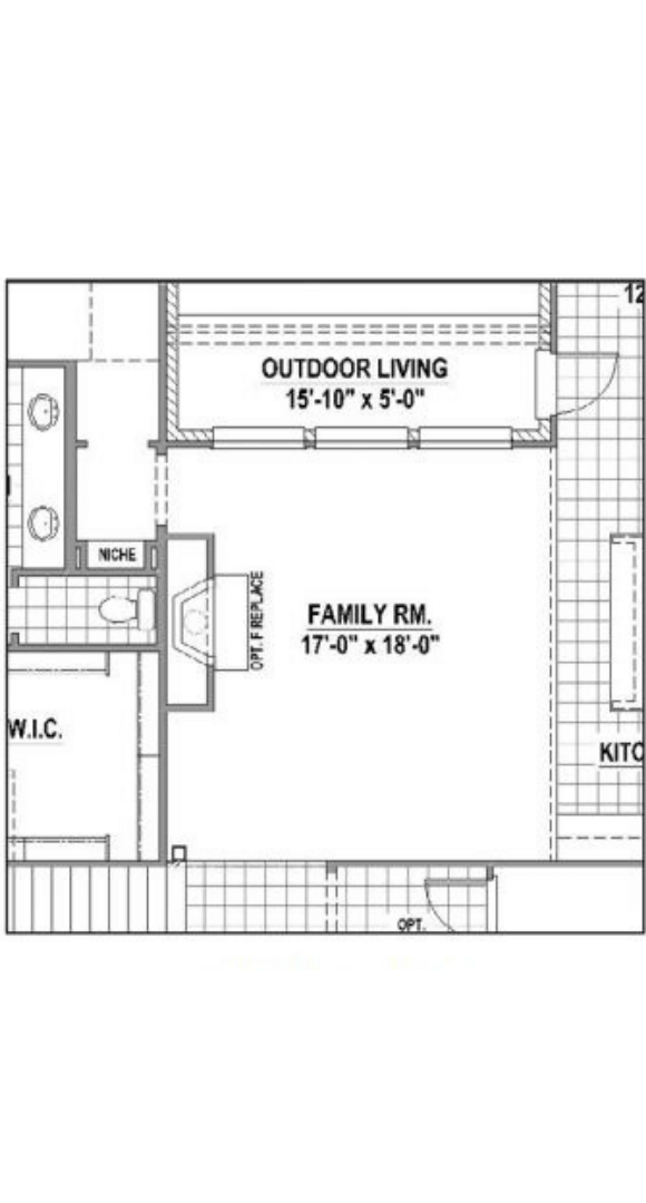 American Legend Homes Plan 1684 Floorplan Optional in Canyon Falls