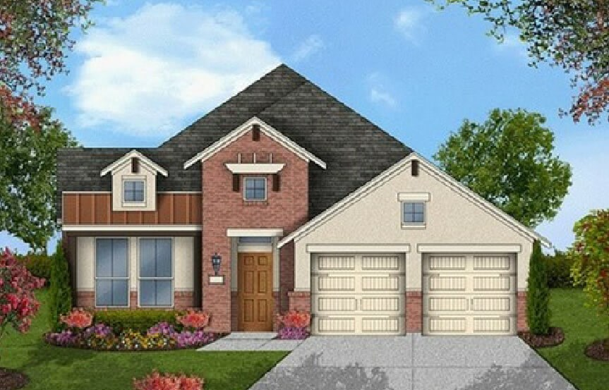 Coventry Homes Plan 2091 Elevation  in Canyon Falls