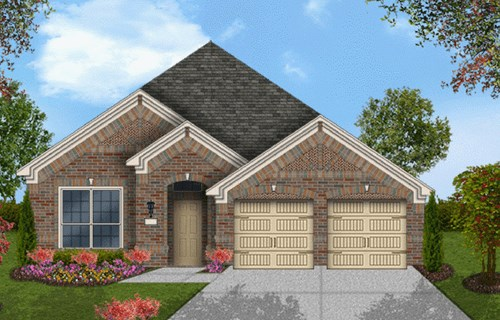Coventry Homes Plan 2091 Elevation A in Canyon Falls