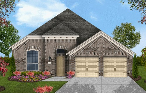 Coventry Homes Plan 2091 Elevation B in Canyon Falls