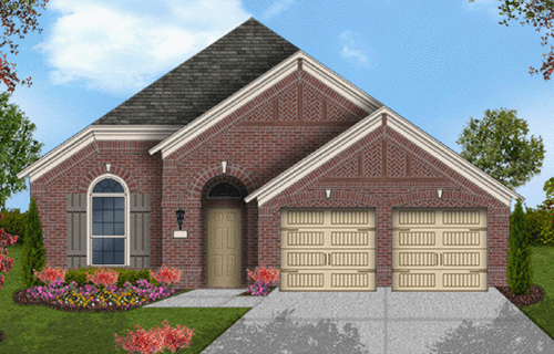 Coventry Homes Plan 2091 Elevation C in Canyon Falls