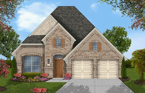Coventry Homes Plan 2091 Elevation D in Canyon Falls