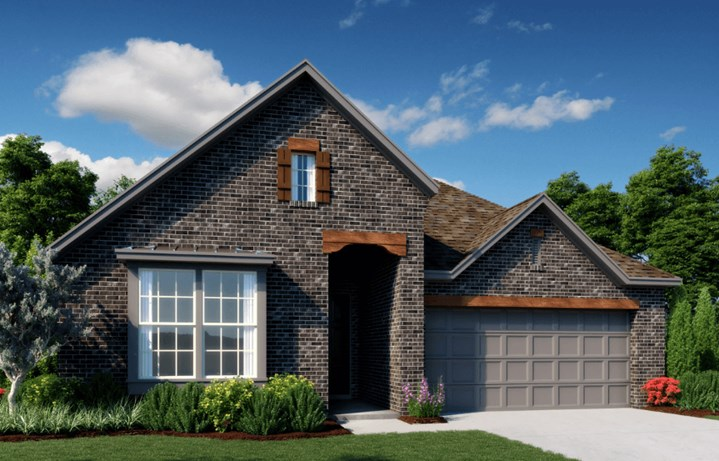 Ashton Woods Homes Plan Emory Elevation A in Canyon Falls