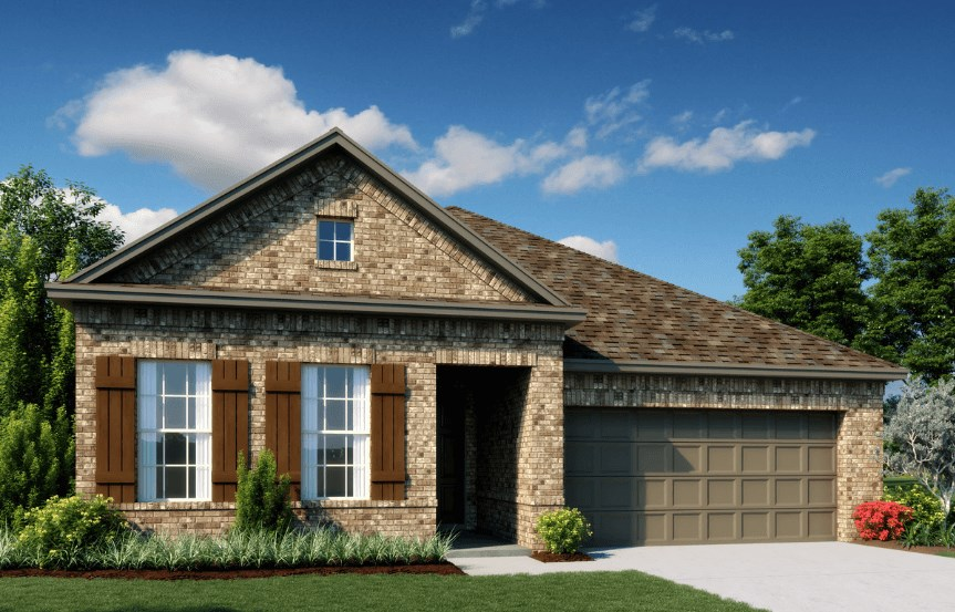 Ashton Woods Homes Plan Emory Elevation C in Canyon Falls