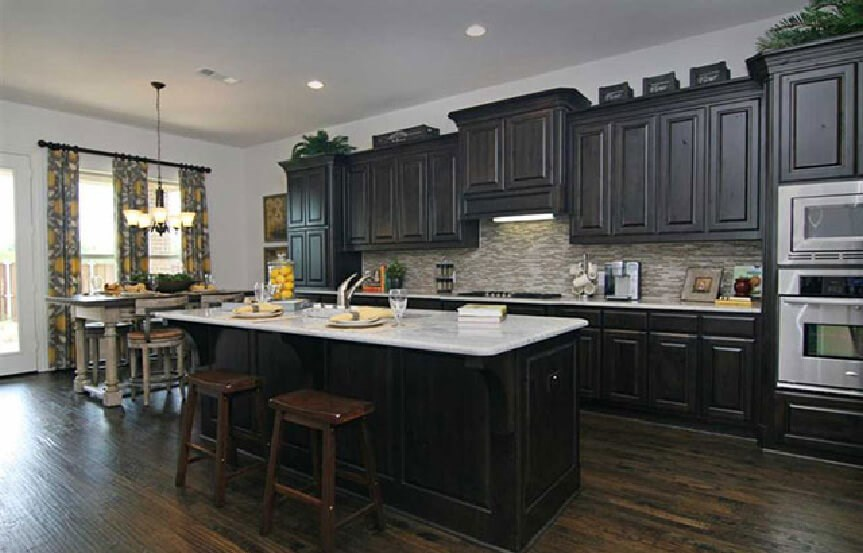 Highland Homes Plan 926 Kitchen 2 in Canyon Falls
