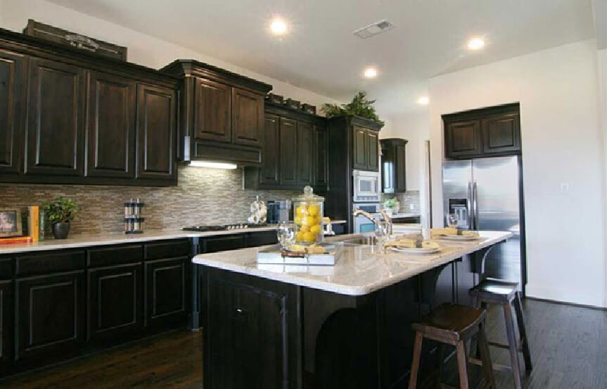 Highland Homes Plan 926 Kitchen 1 in Canyon Falls