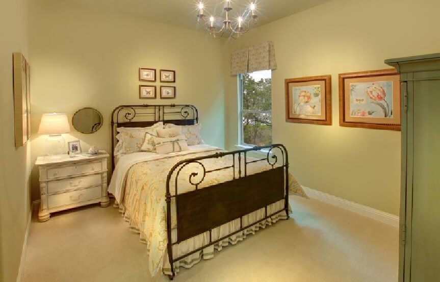 Drees Homes Plan Bracken lll Bedroom 4 in Canyon Falls