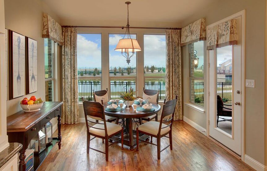 Drees Homes Plan Bracken lll Breakfast Room in Canyon Falls