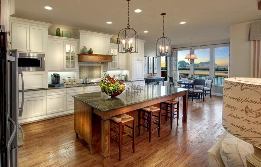 Drees Homes Plan Bracken lll Kitchen in Canyon Falls