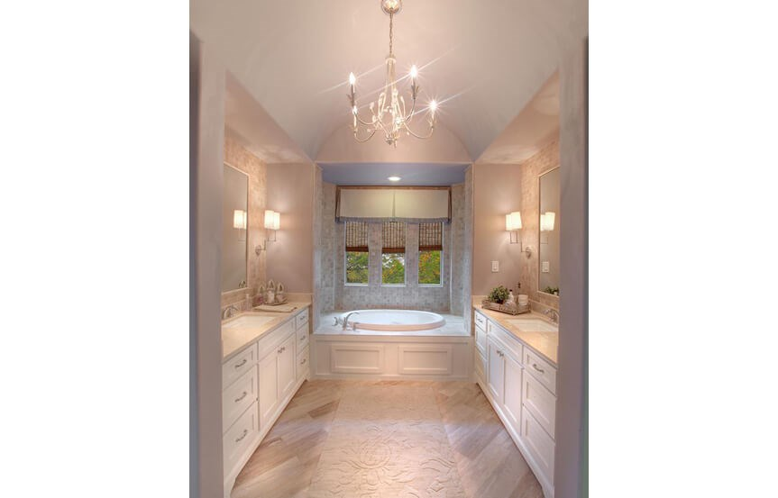 Drees Homes Plan Bracken lll Master Bath in Canyon Falls