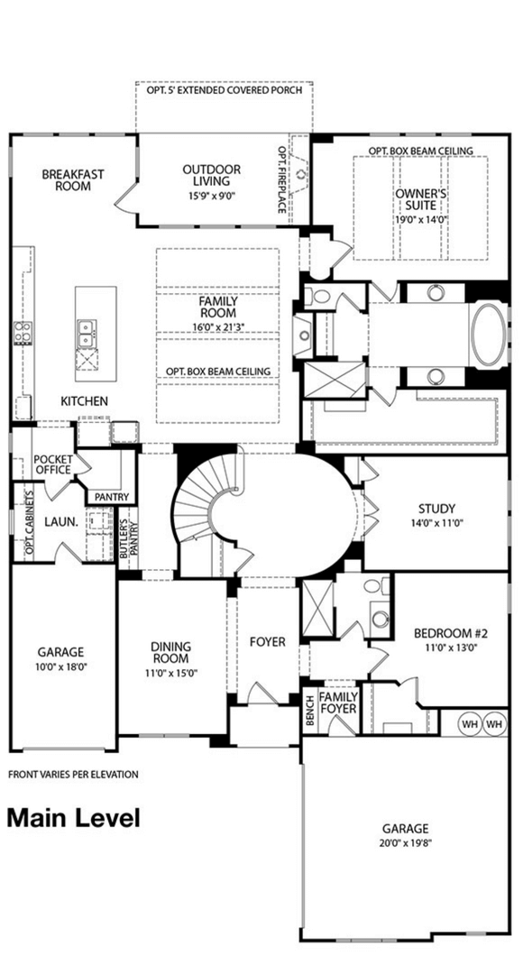 Drees Homes Plan Bracken lll Floorplan in Canyon Falls