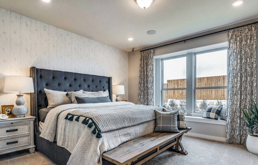 KHovnanian Homes Plan Brikdale ll Master Suite in Canyon Falls