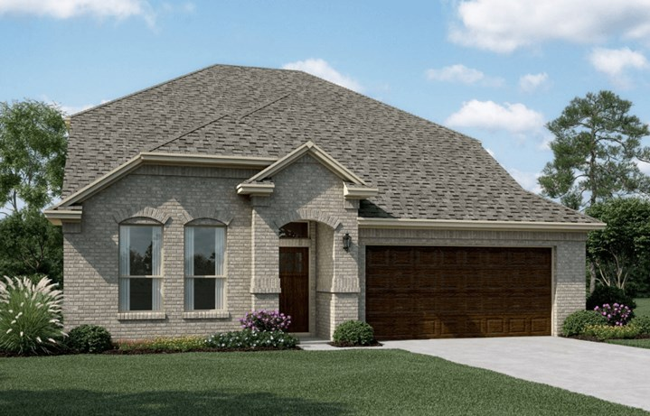KHovnanian Homes Plan Calloway ll Elevation A in Canyon Falls
