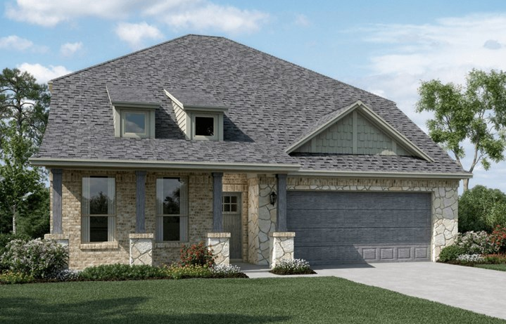 KHovnanian Homes Plan Calloway ll Elevation C in Canyon Falls