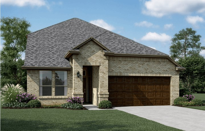 KHovnanian Homes Plan Waverly ll Elevation A in Canyon Falls