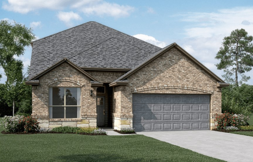 KHovnanian Homes Plan Waverly ll Elevation C in Canyon Falls
