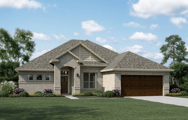 Khovnanian Homes Plan Avery ll Elevation A in canyon Falls