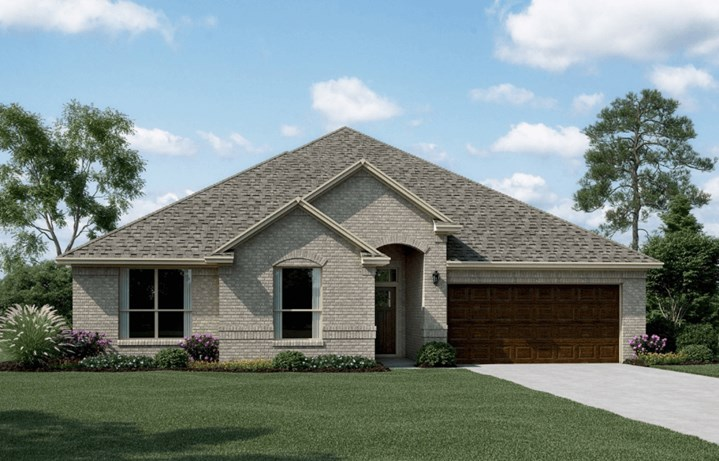 Khovnanian Homes Plan Wedgewood ll Elevation A in canyon Falls