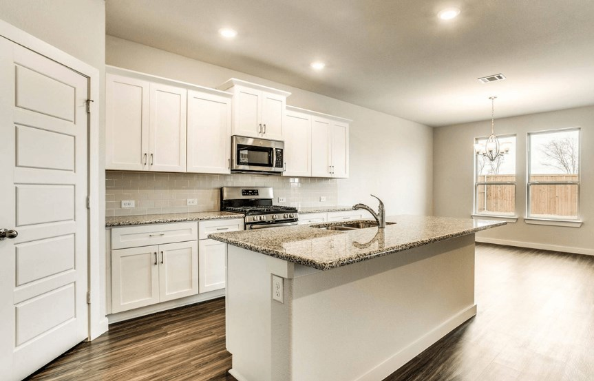 Khovnanian Homes Plan Wedgewood ll Kitchen in canyon Falls