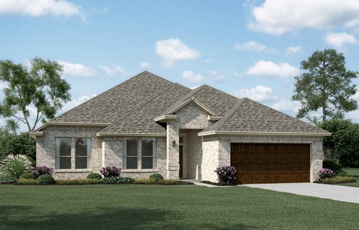 Khovnanian Homes Plan Kendall ll Elevation A in canyon Falls